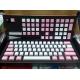 DUCKY 粉紅白色 PBT鍵帽 側刻 108鍵 中文