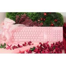 i-rocks IRK01 粉紅色 剪刀式鍵盤