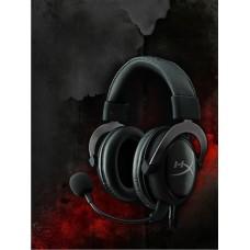 Kingston 金士頓 HyperX CLOUD II USB 耳罩式耳機麥克風 黑灰