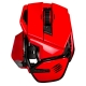MadCatz M.O.U.S 9 藍芽無線滑鼠 (紅)