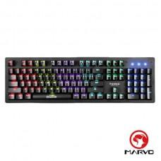 MARVO魔蠍  彩虹混光機械式電競鍵盤-中文注音版