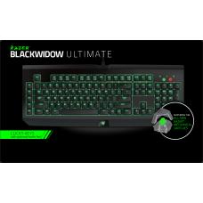 Razer BlackWidow Ultimate 2014 黑寡婦終極版機械鍵盤(綠軸,非CHERRY軸)
