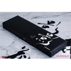 Varmilo 花弄影 白光 茶軸 英文 大理石紋無刻機械式鍵盤