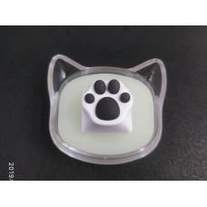 阿米洛 貓爪鍵帽 (白灰)