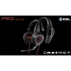 Plantronics RIG 505 LAVA 開放式 模組化電競耳機麥克風